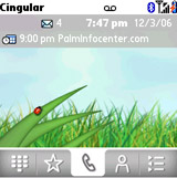 Palm Treo 680 screenshot