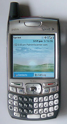 Palm Treo 700p Review
