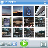 Palm Treo 700p Screenshot