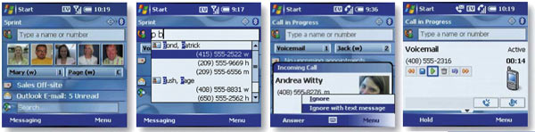 Treo 700wx Screenshots