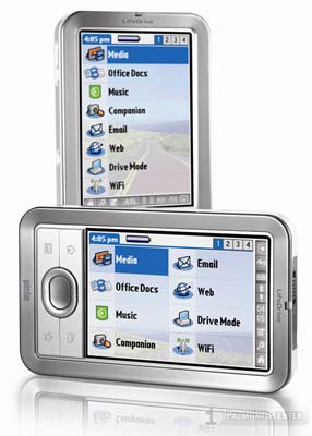 palmOne LifeDrive Mobile Manager Handheld ~ Click for Larger