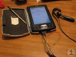 Palm TX mic mod