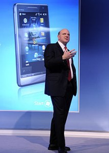 Ballmer Windows Mobile