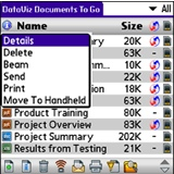 Documents to Go - Palm Software