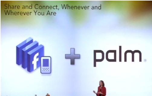 Facebook Palm Pre