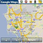 Google Maps Treo
