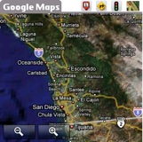 Google Maps Palm OS