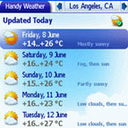 Handy Weather Palm Software