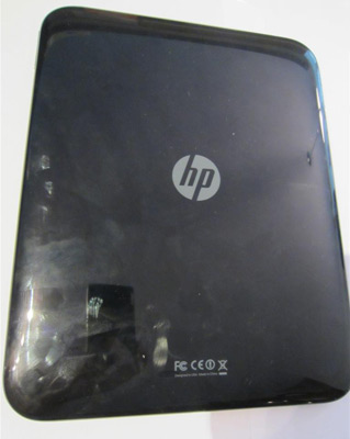 HP TouchPad Review Device Back