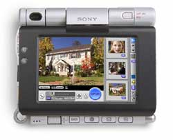 Sony Clie PEG-UX50 ~ Click for larger