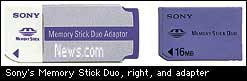 Memory Stick Duo c/o News.com