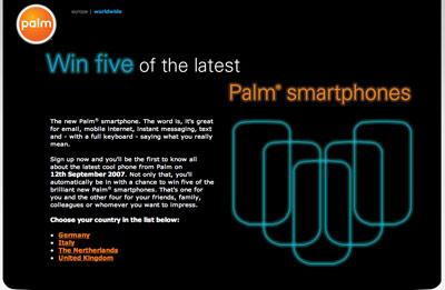 New Palm Smartphone