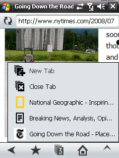 windows mobile opera browser