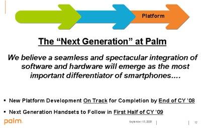 Palm q1fy09