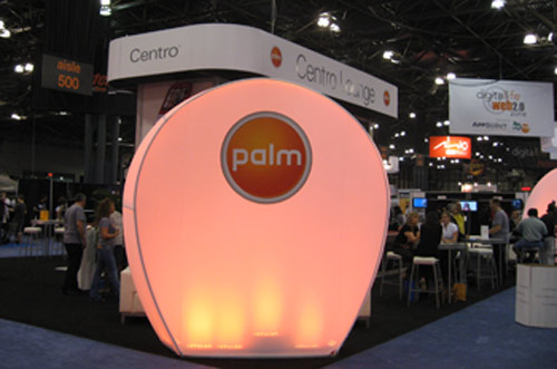 Palm Centro Booth