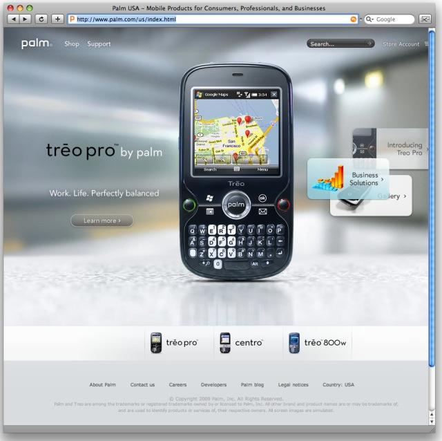 New Palm.com 2009
