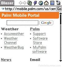 Palm Mobile Portal