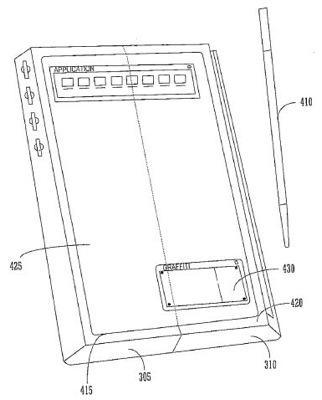 Palm Patent Folding PDA