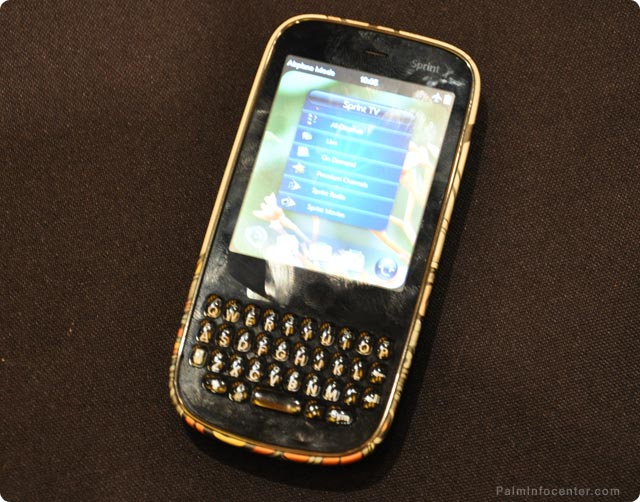 Palm Pixi screen slime