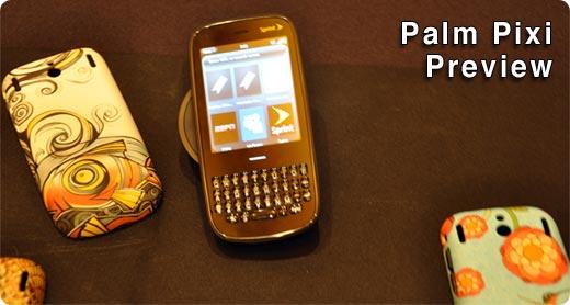 Palm Pixi Preview