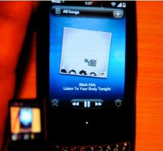 Palm Pre Music App