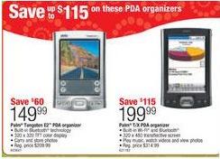 Palm PDA Sale Staples