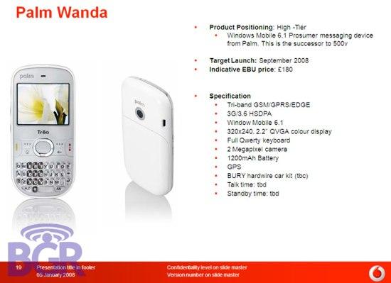 Palm Wanda Vodafone