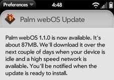 webos 1.1 update