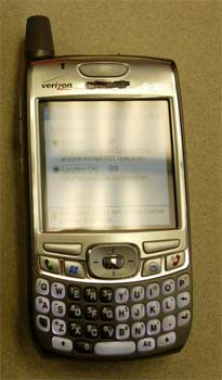 Palm Treo 670 running Windows Mobile 2005