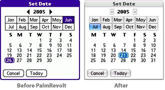 Palm Revolt Cobalt Skin