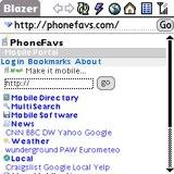 PhoneFavs.com Mobile Web Portal