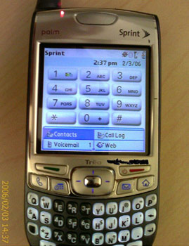Possible Treo 700p Image ~ Click for Larger