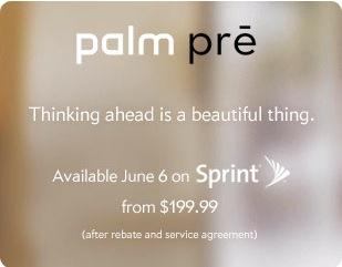 Palm Pre Release Date