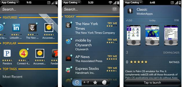 Palm App Catalog