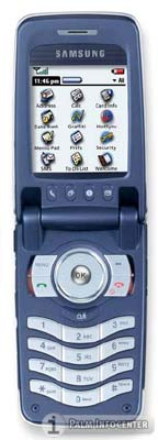 Samsung SGH-i500 Palm OS 5 Smartphone ~ Click for Larger