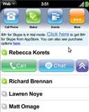 skype webos palm pre