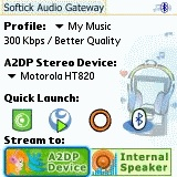 A2DP Bluetooth Audio Gateway