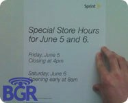 Sprint Store Pre Launch Hours