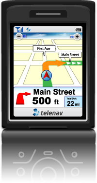 TeleNav for Palm Treo