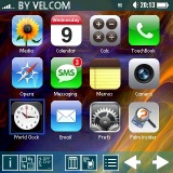 TouchLauncher iPhone Like Launcher for Palm OS