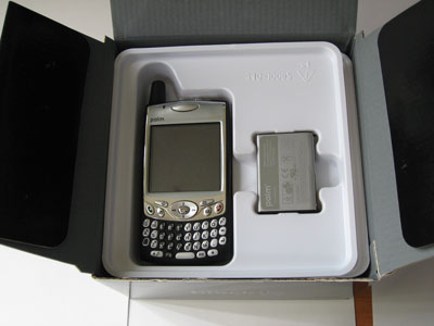 Black Tie Treo 650 - in the box