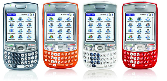 Palm Treo 680 colors