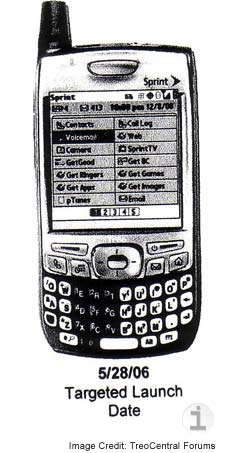 Rumor Palm Treo 700p