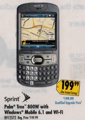 Treo 800w Sale Best Buy