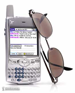 Handspring Treo 600 Review ~ Click for larger