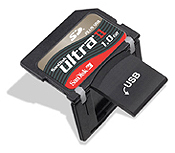 SanDisk Announces SD Card with USB Connectivity