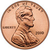 2010 penny cent lincoln