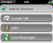 Windows Live Messenger on webOS