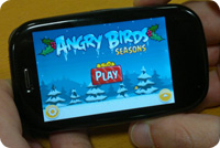 Angry Birds WebOS