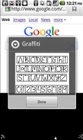 graffiti for android palm
